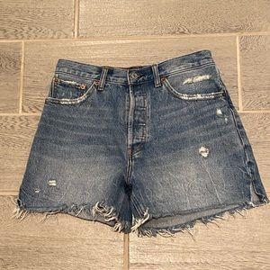 Abercrombie and Fitch high rise mom jeans